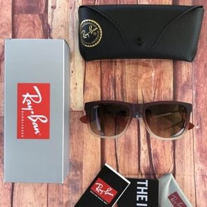 ⚠️60% OFF AUTHENTIC RAY BAN JUSTIN